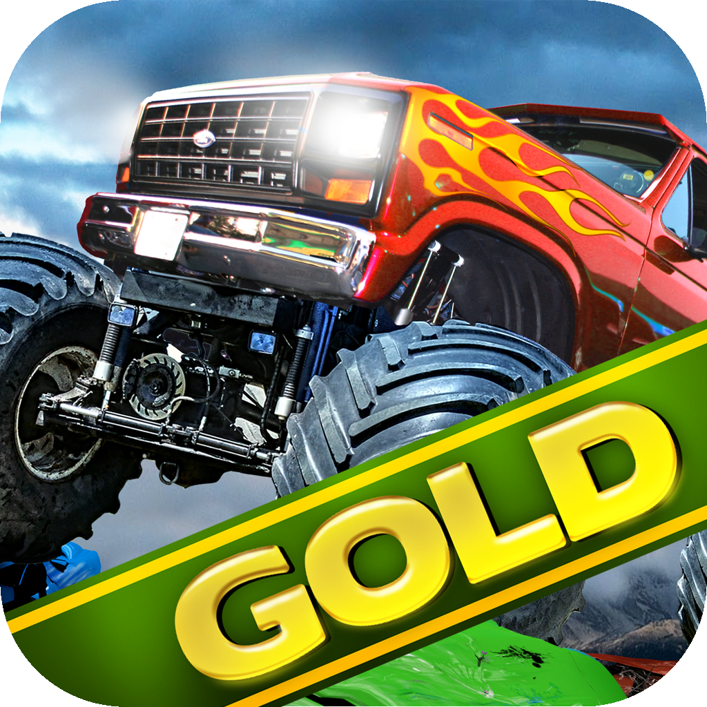 Monster Truck 3D Race Driving Gold: Offroad 4x4 Rally for Extreme AWD Vehicles